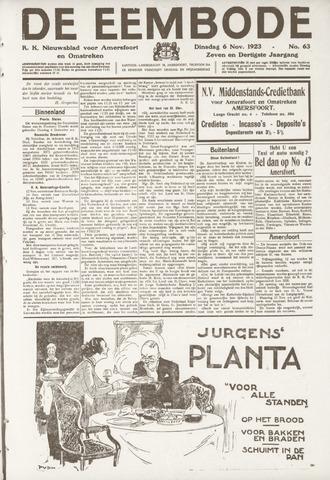 De Eembode 1923-11-06