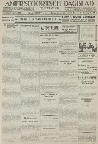 Amersfoortsch Dagblad / De Eemlander 1930-12-27