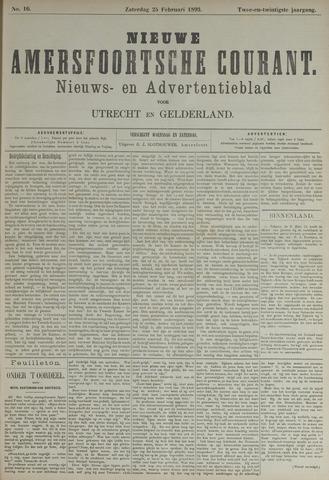 Nieuwe Amersfoortsche Courant 1893-02-25