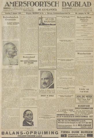 Amersfoortsch Dagblad / De Eemlander 1932-01-02
