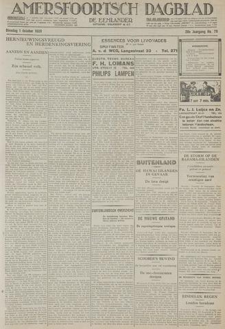 Amersfoortsch Dagblad / De Eemlander 1929-10-01