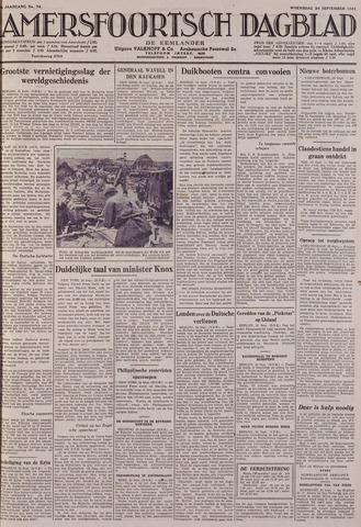 Amersfoortsch Dagblad / De Eemlander 1941-09-24