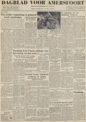 Dagblad voor Amersfoort 1947-11-28