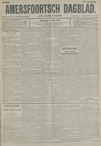 Amersfoortsch Dagblad / De Eemlander 1915-05-11