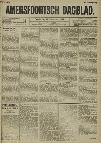 Amersfoortsch Dagblad 1904-11-17