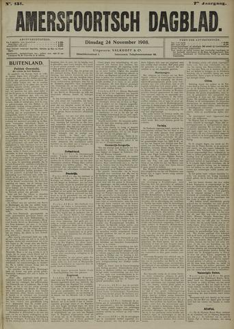 Amersfoortsch Dagblad 1908-11-24