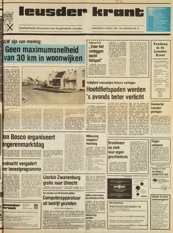 Leusder Krant 1985-03-14