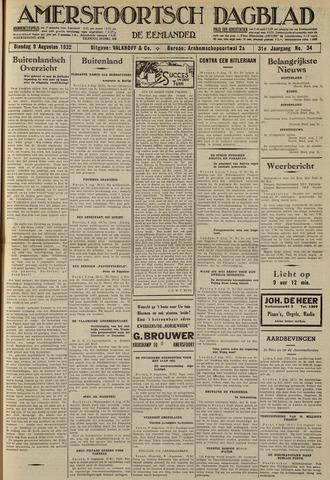 Amersfoortsch Dagblad / De Eemlander 1932-08-09