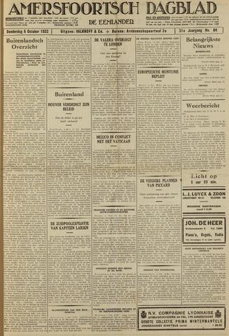 Amersfoortsch Dagblad / De Eemlander 1932-10-06