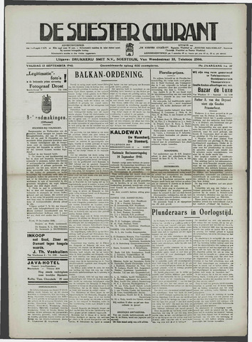 Soester Courant 1940-09-13