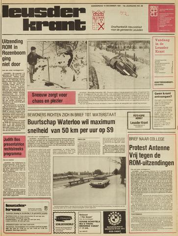 Leusder Krant 1981-12-10