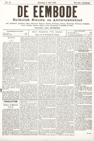 De Eembode 1893-07-08