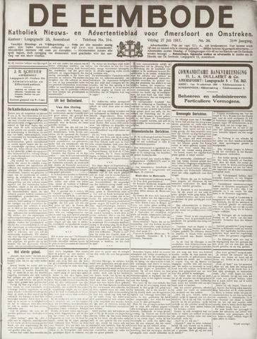 De Eembode 1917-07-27