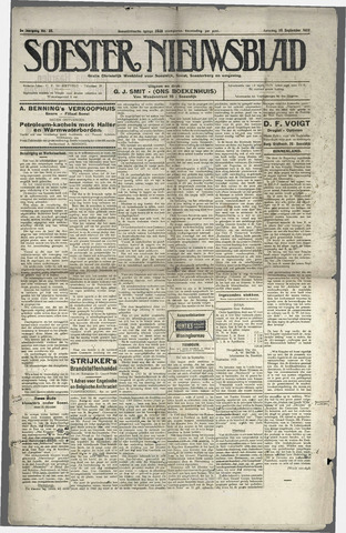 Soester Courant 1923-09-29