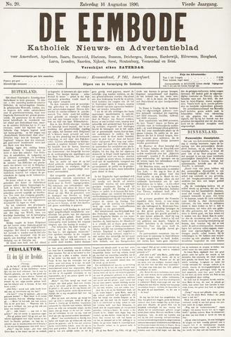 De Eembode 1890-08-16