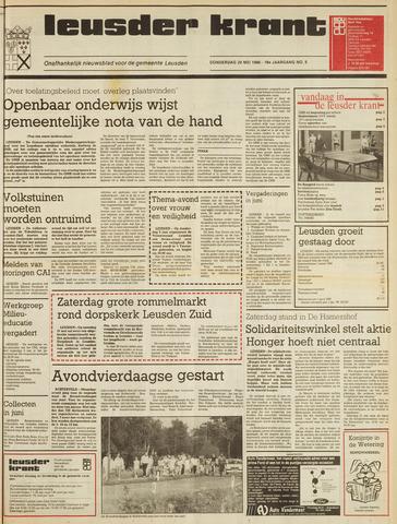 Leusder Krant 1986-05-29