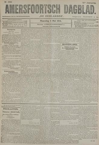 Amersfoortsch Dagblad / De Eemlander 1914-05-04