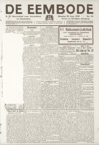 De Eembode 1923-08-28