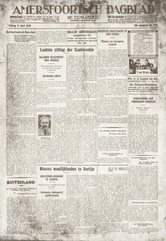 Amersfoortsch Dagblad / De Eemlander 1930-04-11