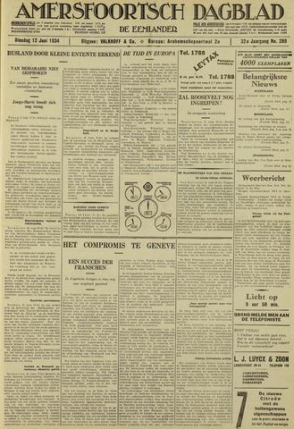 Amersfoortsch Dagblad / De Eemlander 1934-06-12