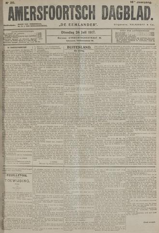 Amersfoortsch Dagblad / De Eemlander 1917-07-24