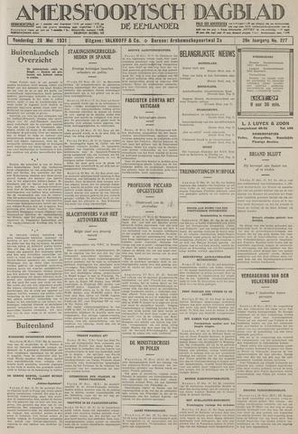 Amersfoortsch Dagblad / De Eemlander 1931-05-28