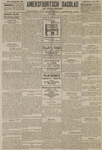 Amersfoortsch Dagblad / De Eemlander 1925-06-17