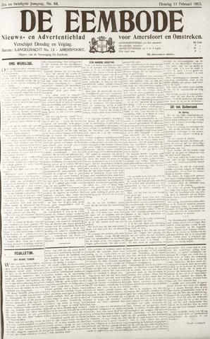 De Eembode 1913-02-11