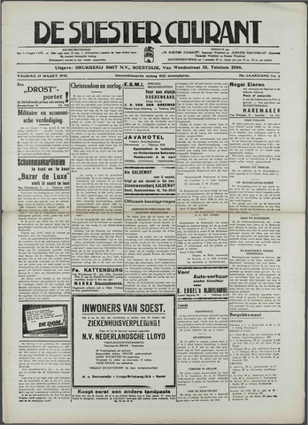 Soester Courant 1940-03-15
