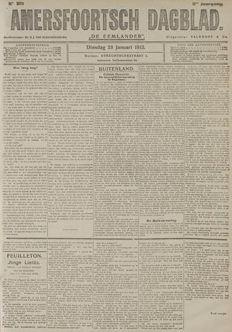 Amersfoortsch Dagblad / De Eemlander 1913-01-28