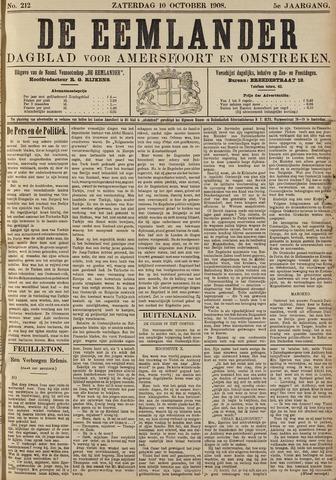 De Eemlander 1908-10-10