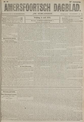 Amersfoortsch Dagblad / De Eemlander 1913-07-11