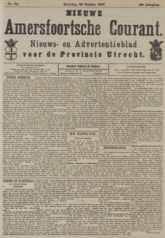 Nieuwe Amersfoortsche Courant 1917-10-20