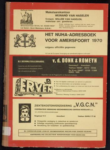 Adresboeken Amersfoort 1970