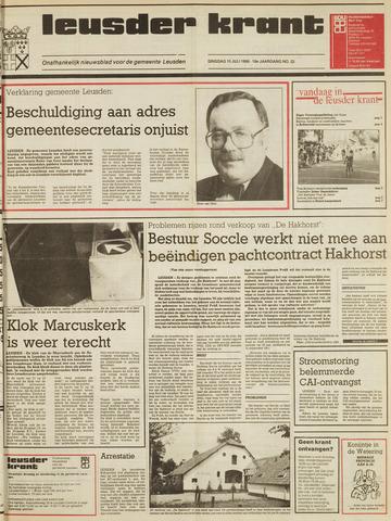 Leusder Krant 1986-07-15