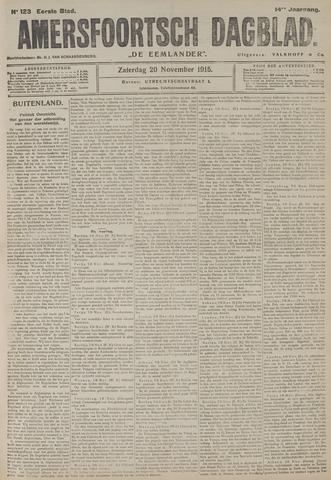 Amersfoortsch Dagblad / De Eemlander 1915-11-20