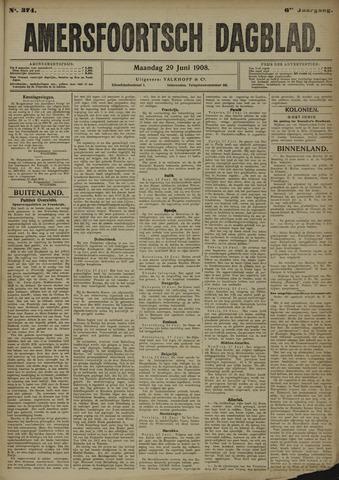 Amersfoortsch Dagblad 1908-06-29