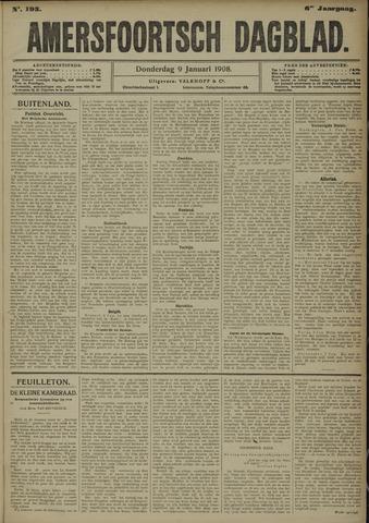 Amersfoortsch Dagblad 1908-01-09