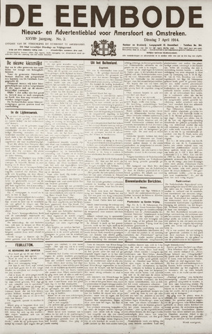 De Eembode 1914-04-07