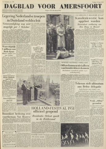 Dagblad voor Amersfoort 1951-06-15