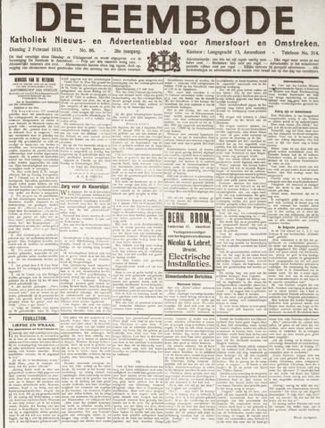 De Eembode 1915-02-02