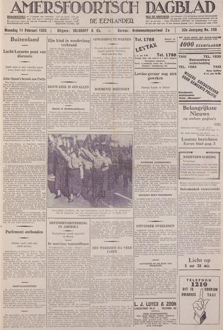 Amersfoortsch Dagblad / De Eemlander 1935-02-11