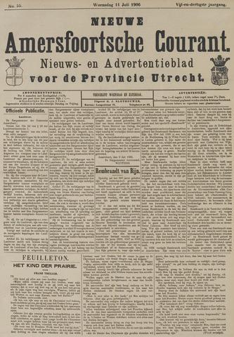 Nieuwe Amersfoortsche Courant 1906-07-11