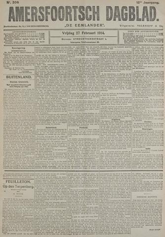 Amersfoortsch Dagblad / De Eemlander 1914-02-27