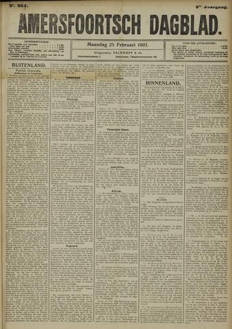 Amersfoortsch Dagblad 1907-02-25