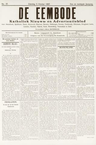 De Eembode 1907-10-05