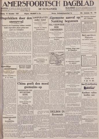Amersfoortsch Dagblad / De Eemlander 1937-12-10