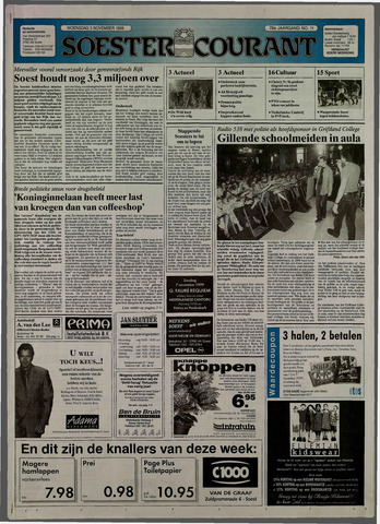 Soester Courant 1999-11-03
