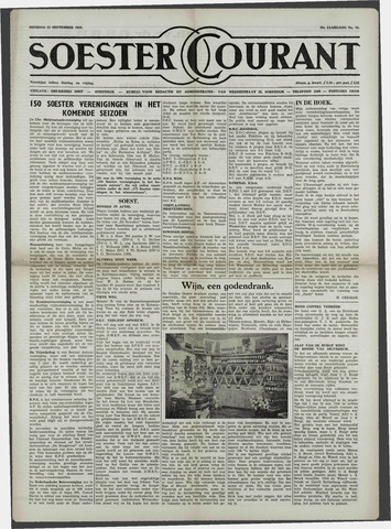 Soester Courant 1958-09-23