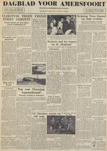 Dagblad voor Amersfoort 1947-12-29